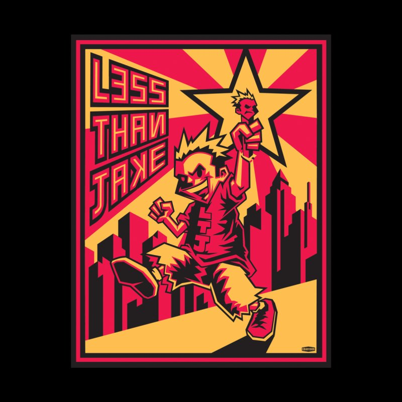 Evo Kid Commie Men's T-Shirt by Less Than Jake T-Shirts and more!