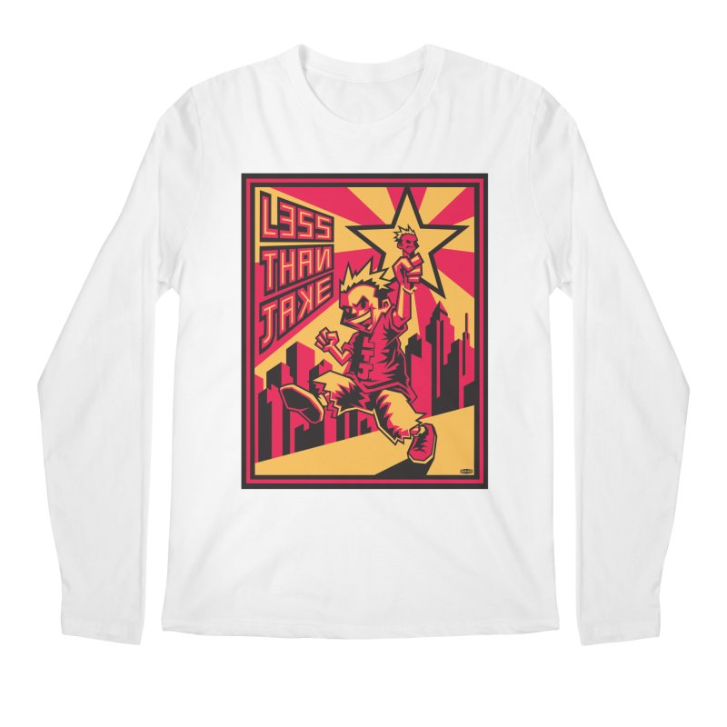 Evo Kid Commie Men's Regular Longsleeve T-Shirt by Less Than Jake T-Shirts and more!