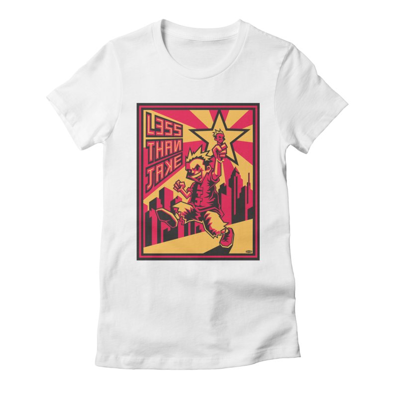 Evo Kid Commie Women's Fitted T-Shirt by Less Than Jake T-Shirts and more!