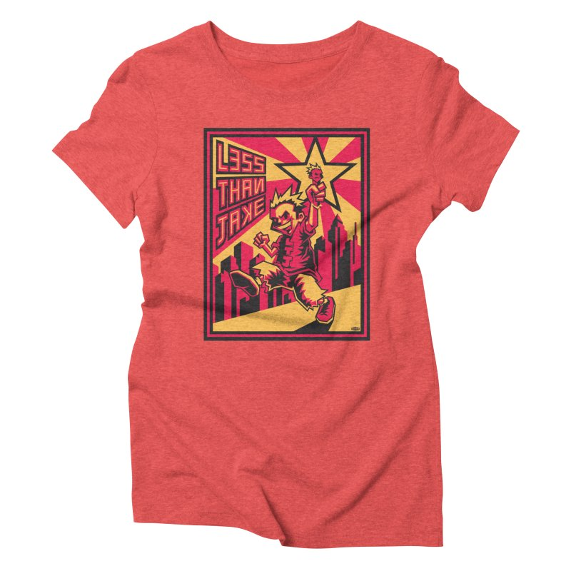 Evo Kid Commie Women's Triblend T-Shirt by Less Than Jake T-Shirts and more!