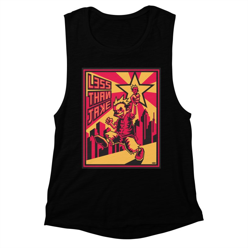 Evo Kid Commie Women's Muscle Tank by Less Than Jake T-Shirts and more!