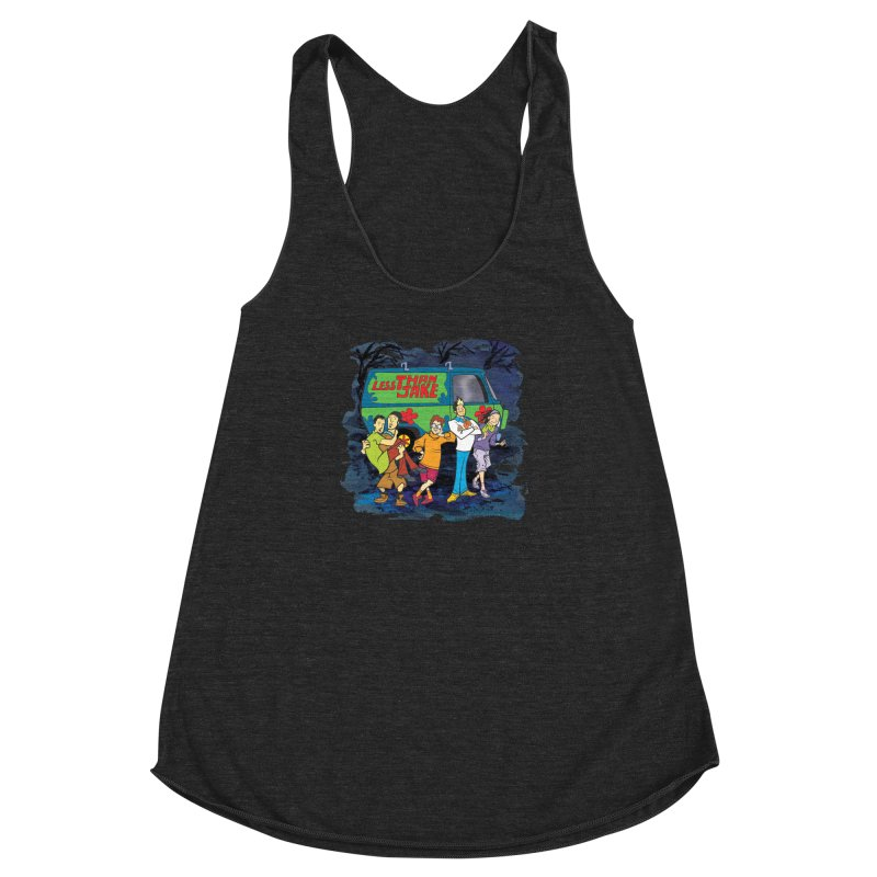 TVEP Scooby Women's Racerback Triblend Tank by Less Than Jake T-Shirts and more!