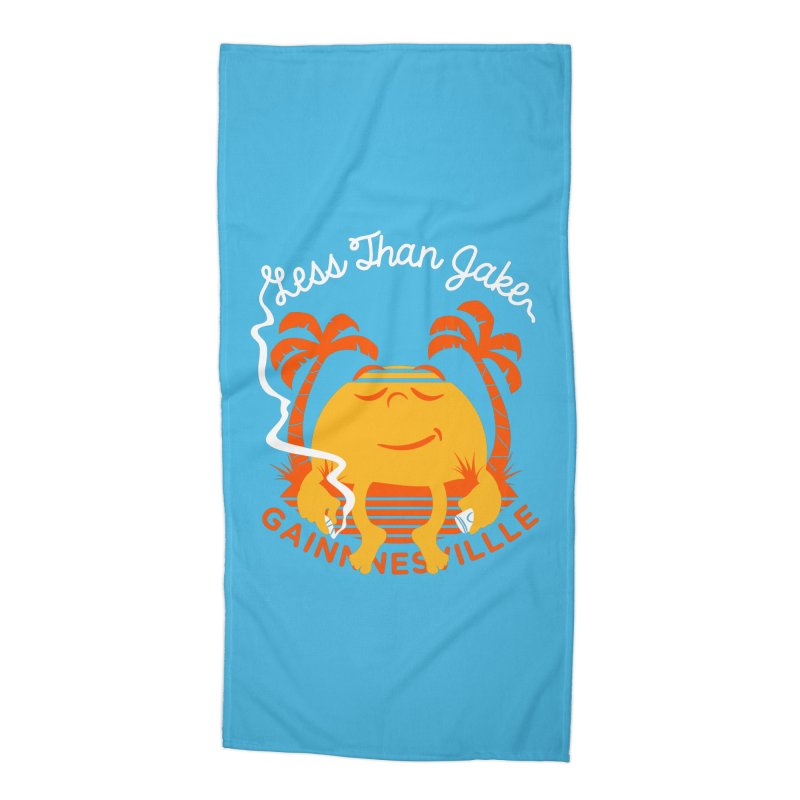 LTJ Sunset Accessories Beach Towel by Less Than Jake T-Shirts and more!