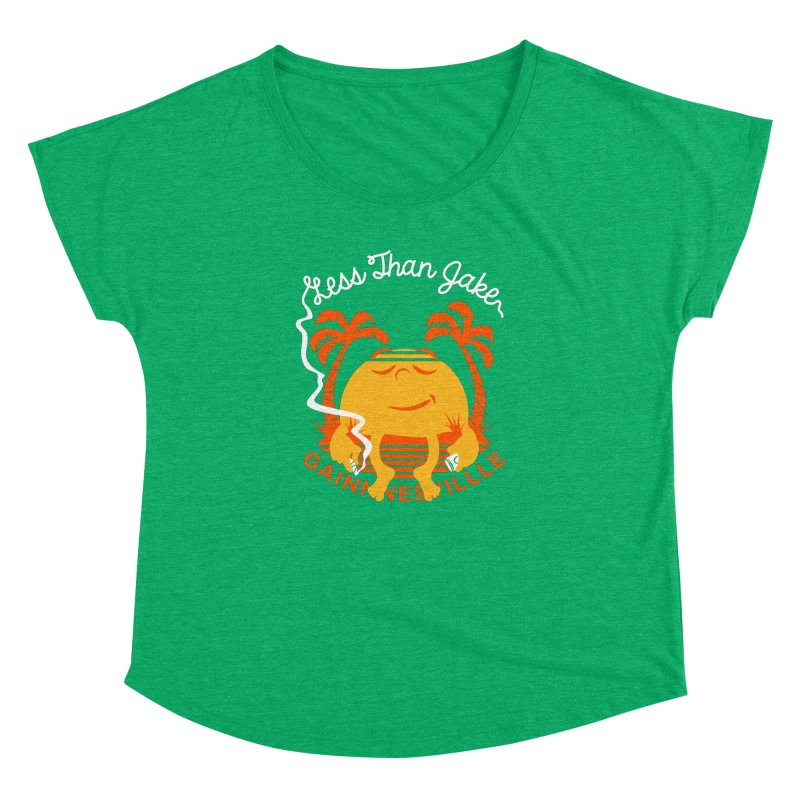 LTJ Sunset Women's Dolman Scoop Neck by Less Than Jake T-Shirts and more!