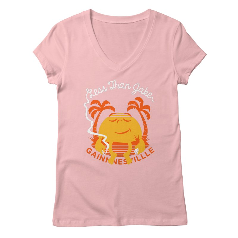 LTJ Sunset Women's Regular V-Neck by Less Than Jake T-Shirts and more!
