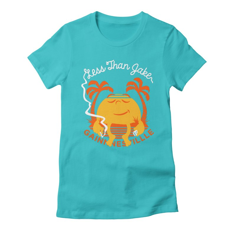 LTJ Sunset Women's Fitted T-Shirt by Less Than Jake T-Shirts and more!