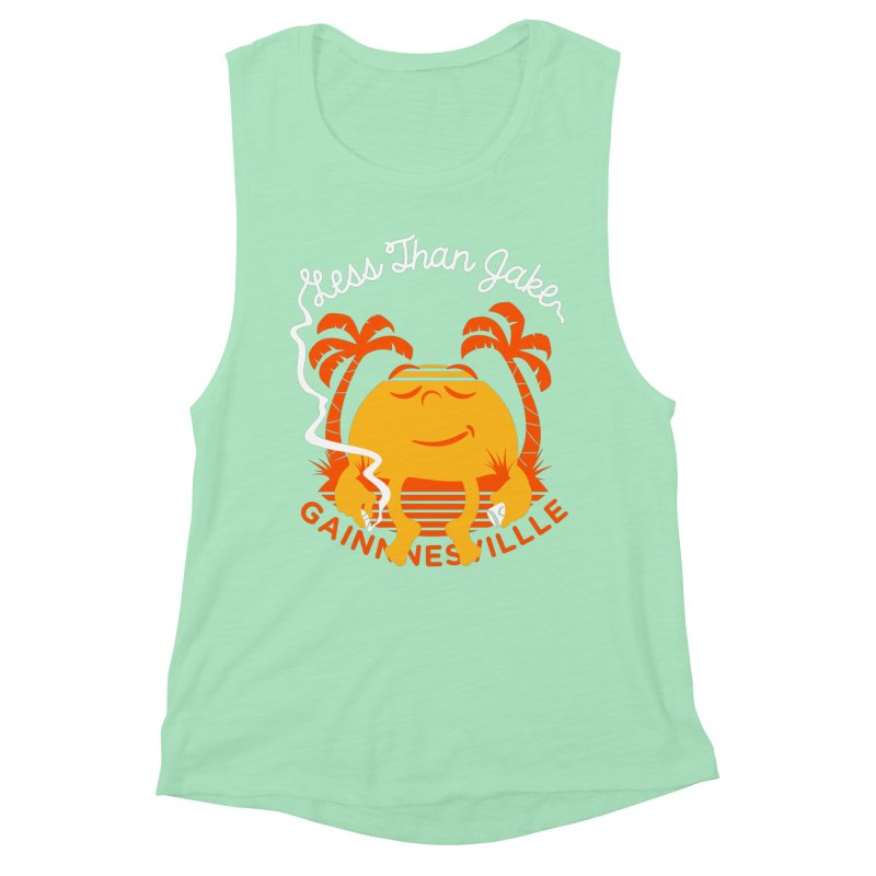 LTJ Sunset Women's Muscle Tank by Less Than Jake T-Shirts and more!