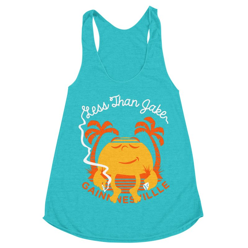 LTJ Sunset Women's Racerback Triblend Tank by Less Than Jake T-Shirts and more!