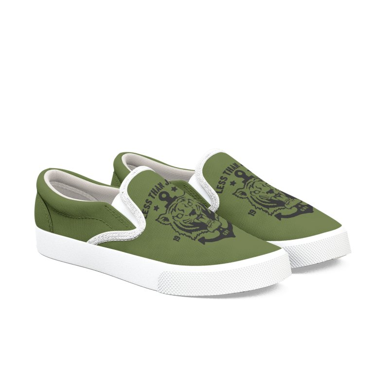 Tiger / Anchor Men's Slip-On Shoes by Less Than Jake T-Shirts and more!