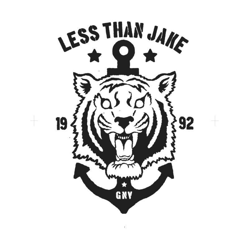 Tiger / Anchor Men's Longsleeve T-Shirt by Less Than Jake T-Shirts and more!