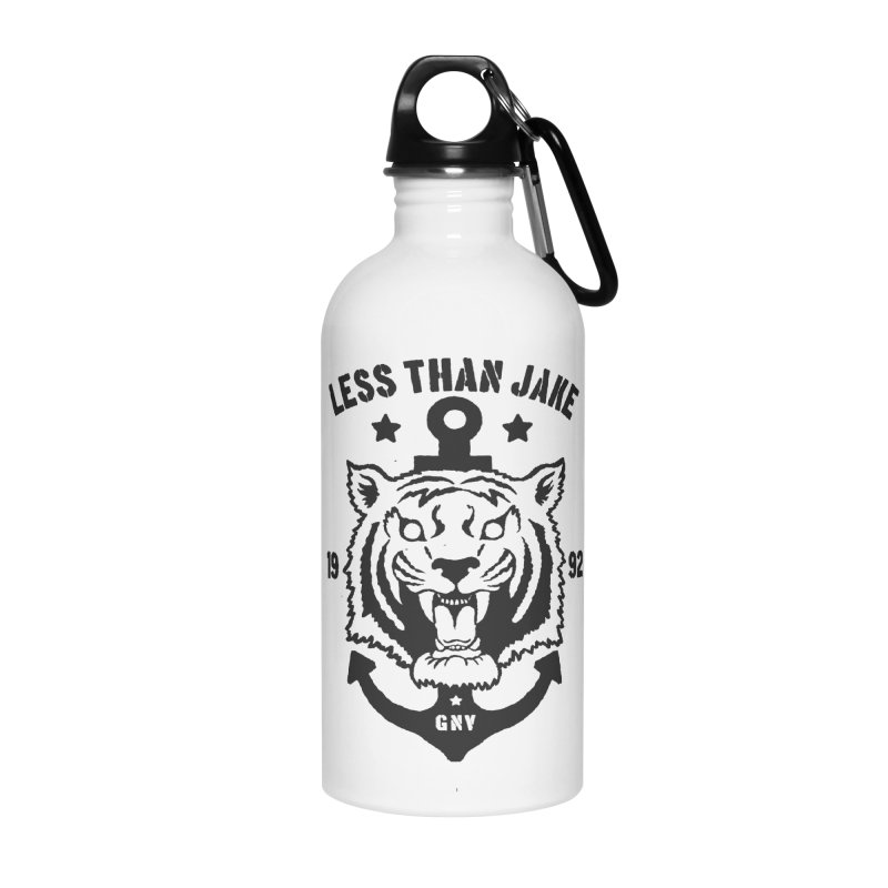 Tiger / Anchor Accessories Water Bottle by Less Than Jake T-Shirts and more!