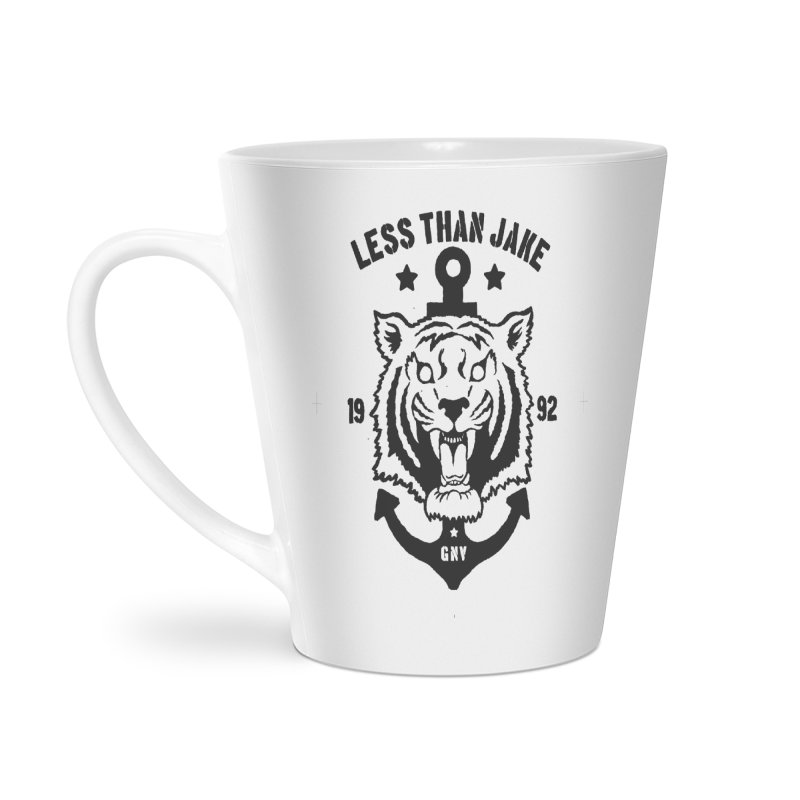 Tiger / Anchor Accessories Latte Mug by Less Than Jake T-Shirts and more!