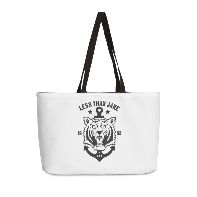 Tiger / Anchor Accessories Weekender Bag Bag by Less Than Jake T-Shirts and more!