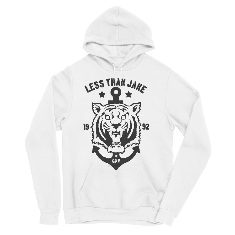 Tiger / Anchor Men's Sponge Fleece Pullover Hoody by Less Than Jake T-Shirts and more!