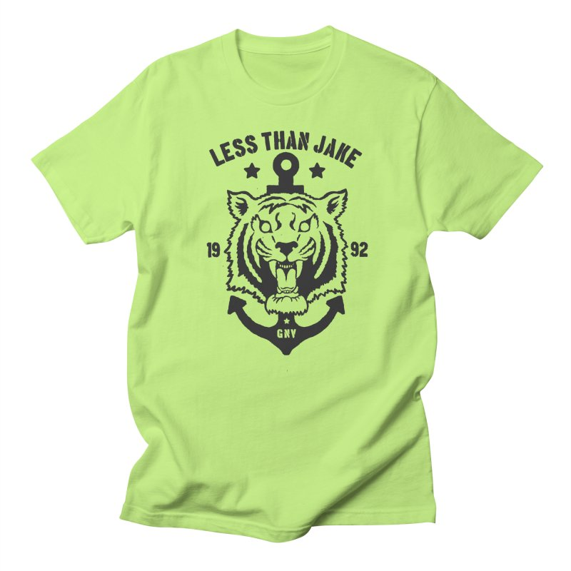 Tiger / Anchor Women's Regular Unisex T-Shirt by Less Than Jake T-Shirts and more!