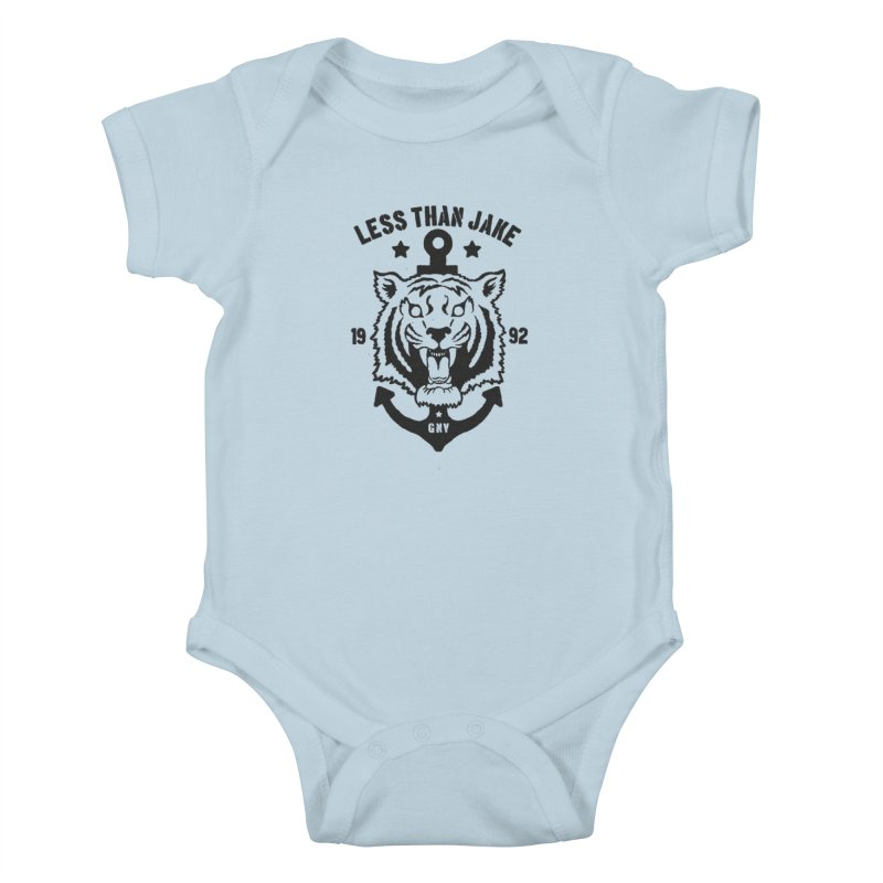 Tiger / Anchor Kids Baby Bodysuit by Less Than Jake T-Shirts and more!