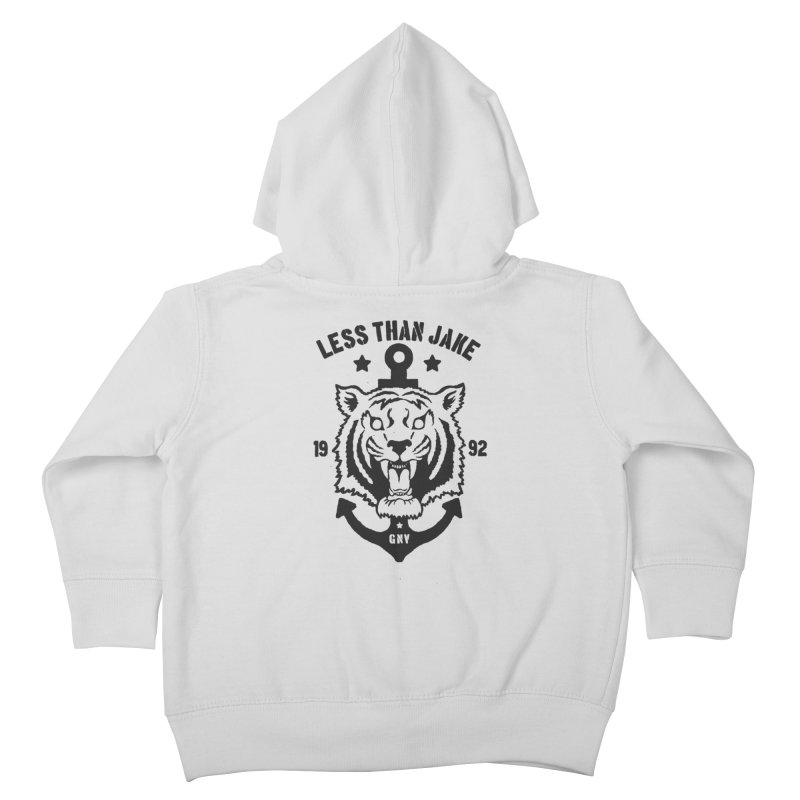 Tiger / Anchor Kids Toddler Zip-Up Hoody by Less Than Jake T-Shirts and more!