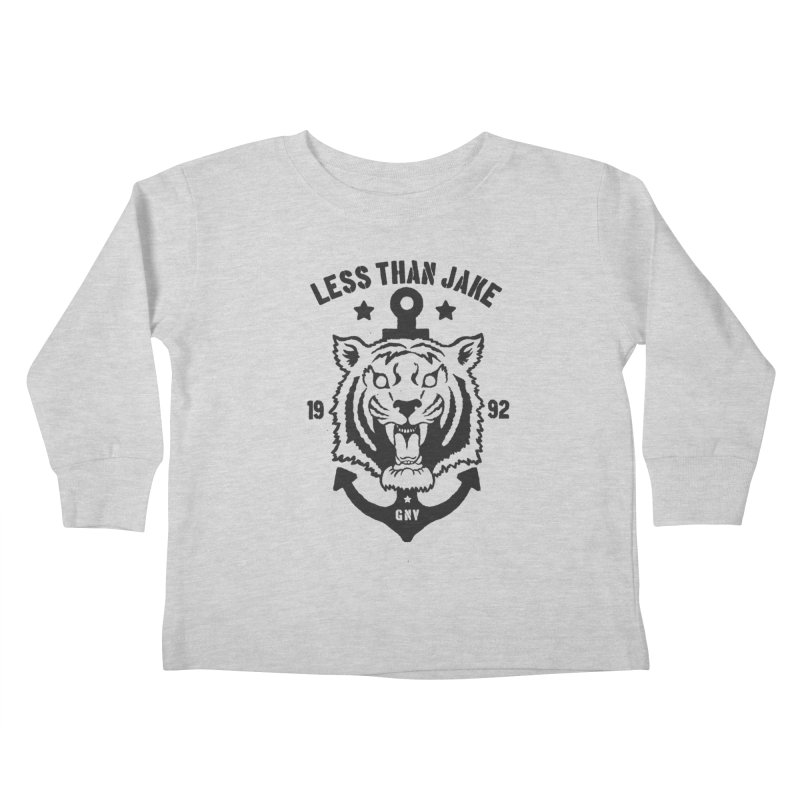 Tiger / Anchor Kids Toddler Longsleeve T-Shirt by Less Than Jake T-Shirts and more!