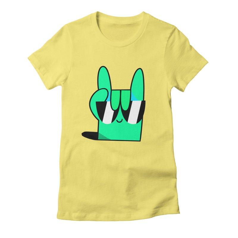 Stay Cool Women's T-Shirt by letsbrock's Artist Shop