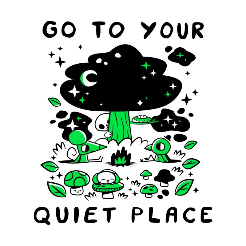 Quiet Place None  by letsbrock's Artist Shop