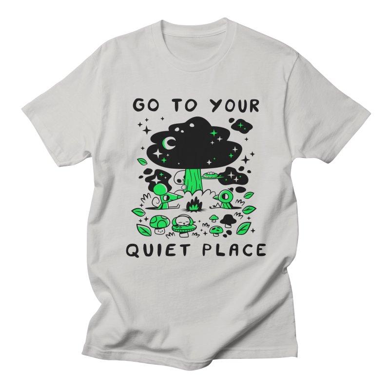 Quiet Place Men's T-Shirt by letsbrock's Artist Shop