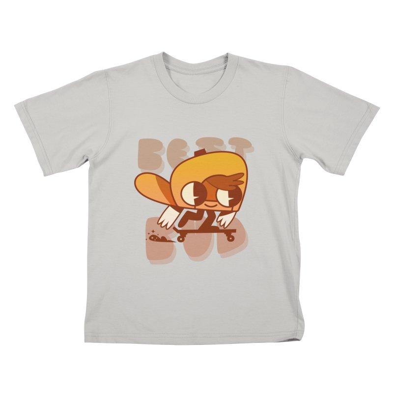 Best Bud Kids T-Shirt by letsbrock's Artist Shop