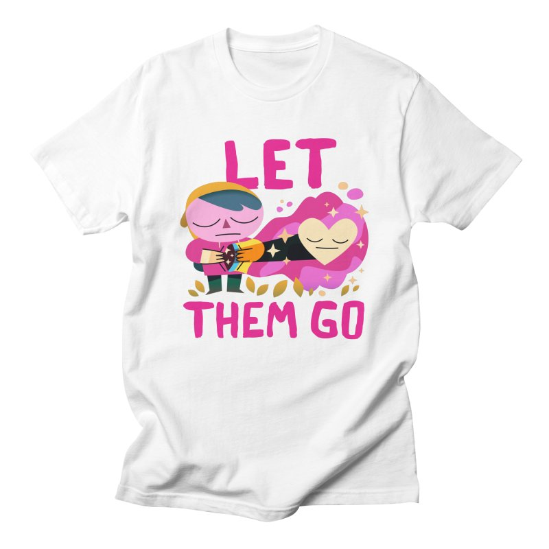 Let Them Go Men's T-Shirt by letsbrock's Artist Shop