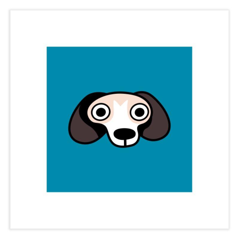 Regle Beagle Home Fine Art Print by letsbrock's Artist Shop