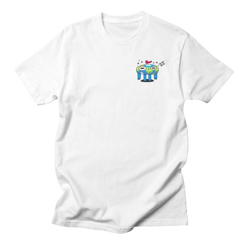 Flat Derp (Earth) Men's Regular T-Shirt by letsbrock's Artist Shop