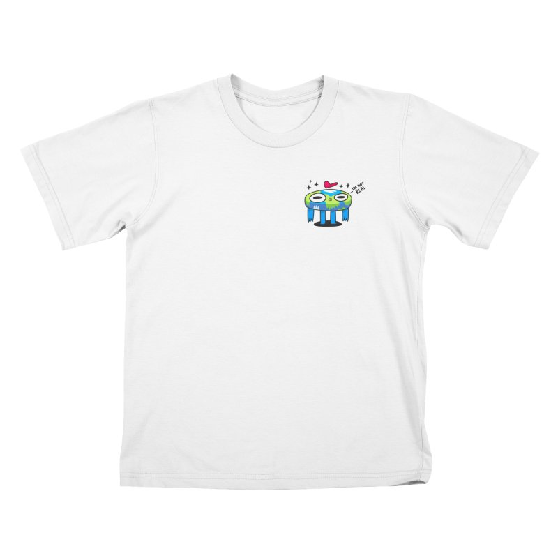 Flat Derp (Earth) Kids T-Shirt by letsbrock's Artist Shop