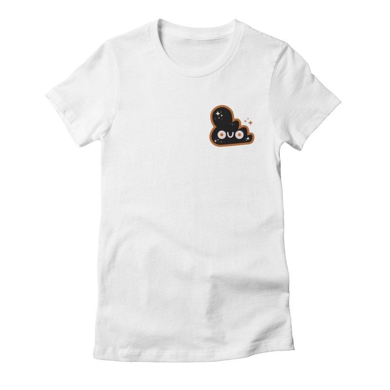 Night Cloud Women's Fitted T-Shirt by letsbrock's Artist Shop