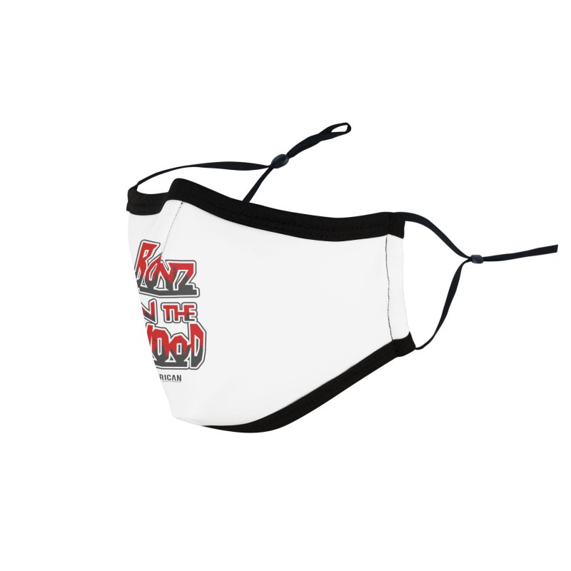 Boys in the Wood - White Accessories Face Mask by American Camp Supply