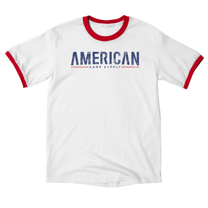 American Camp Supply Distressed Men's T-Shirt by American Camp Supply