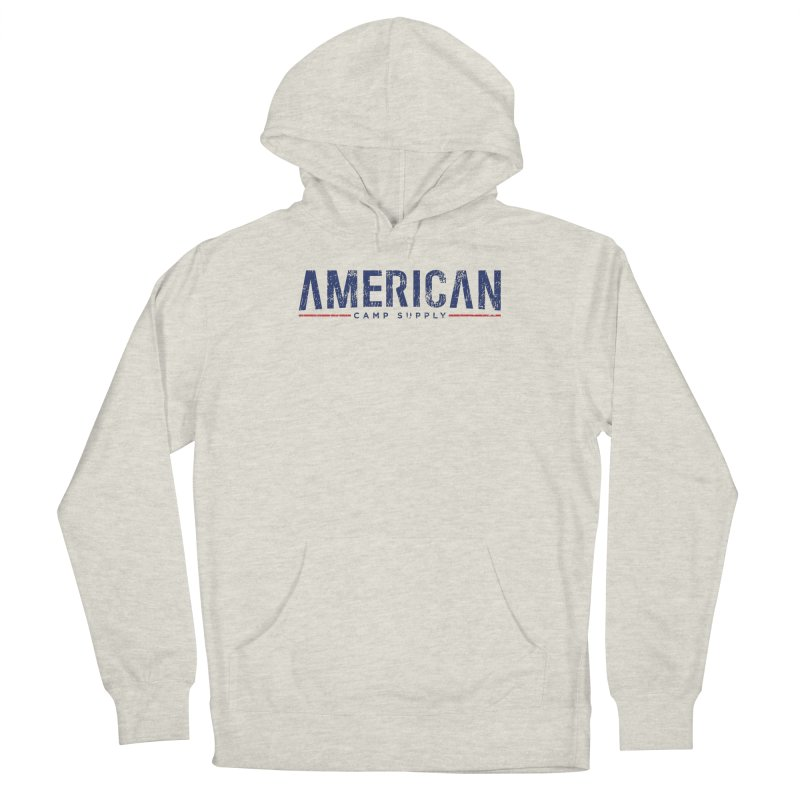 American Camp Supply Distressed Men's Pullover Hoody by American Camp Supply