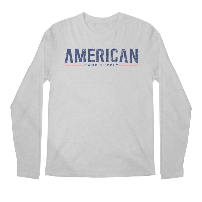 American Camp Supply Distressed Men's Longsleeve T-Shirt by American Camp Supply