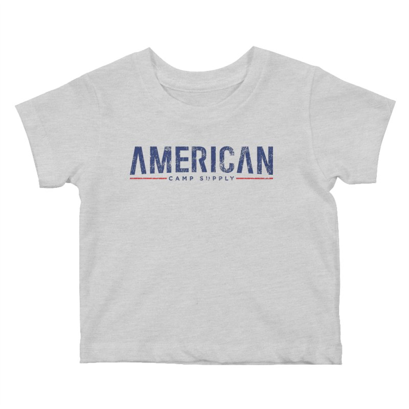 American Camp Supply Distressed Kids Baby T-Shirt by American Camp Supply