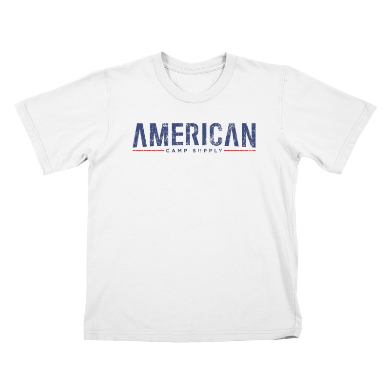 American Camp Supply Distressed Kids T-Shirt by American Camp Supply
