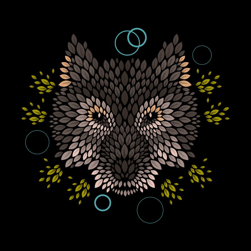 Wolf Face None  by letterq's Artist Shop