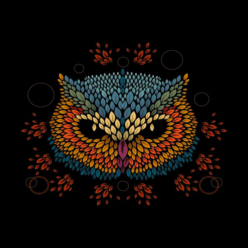 Owl Face None  by letterq's Artist Shop