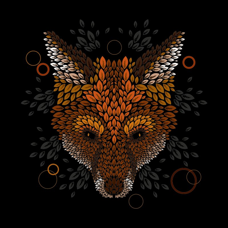 Fox Face None  by letterq's Artist Shop