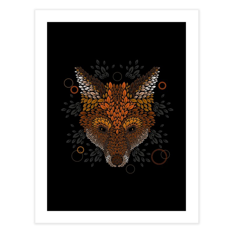 Fox Face Home Throw Pillow by letterq's Artist Shop