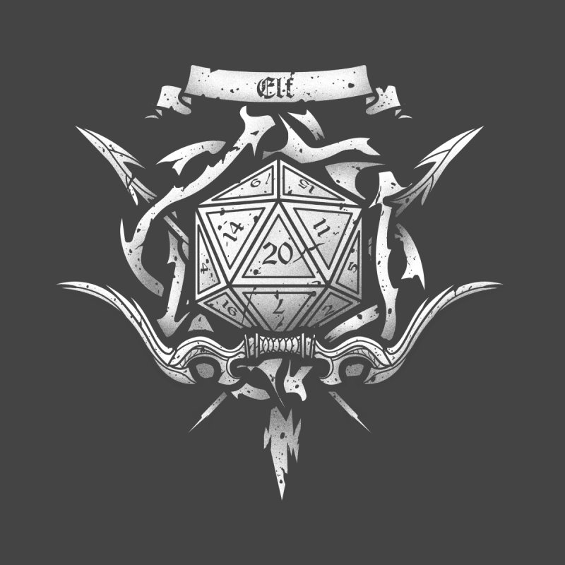 Elf Crest None  by letterq's Artist Shop