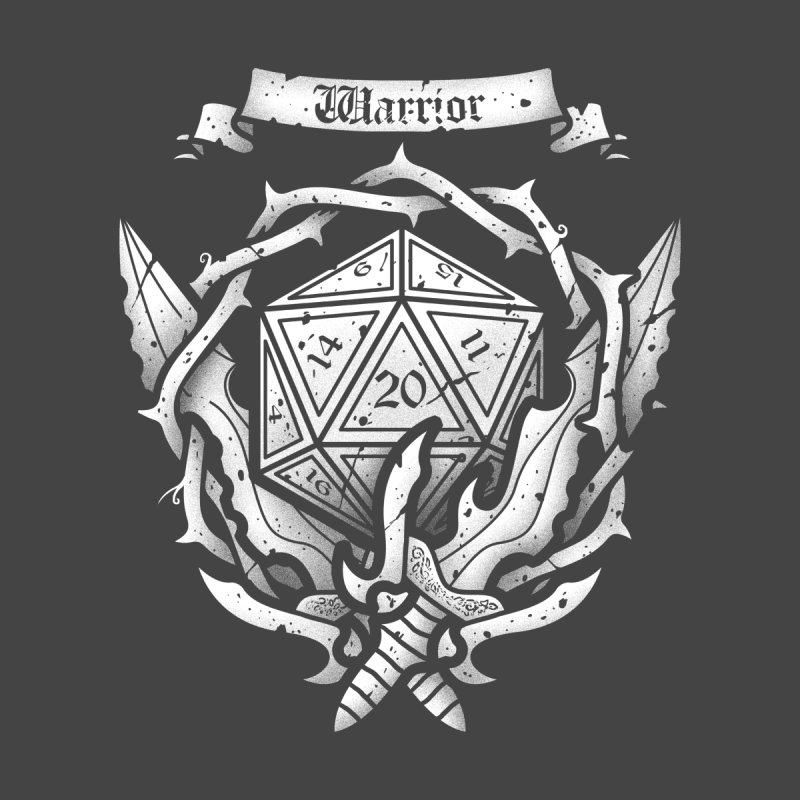 Warrior Crest None  by letterq's Artist Shop