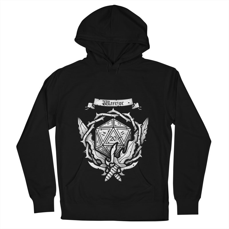 Warrior Crest Men's Pullover Hoody by letterq's Artist Shop