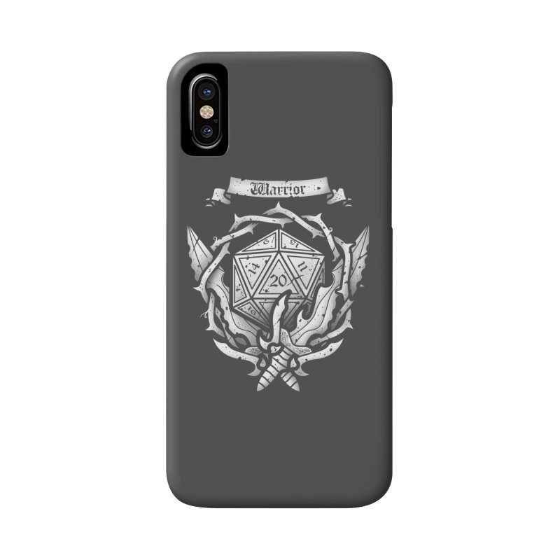 Warrior Crest Accessories Phone Case by letterq's Artist Shop