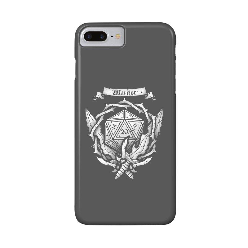 Warrior Crest Accessories Phone Case by letterq's Artist Shop
