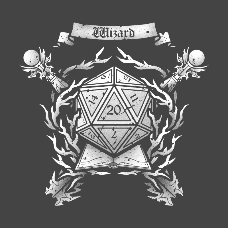 Wizard Crest None  by letterq's Artist Shop
