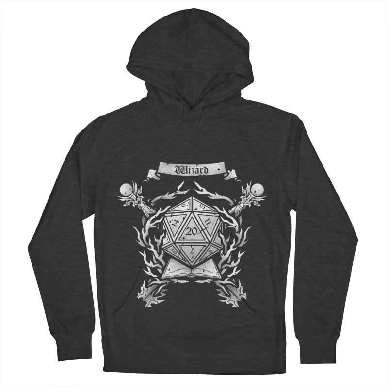 Wizard Crest Men's Pullover Hoody by letterq's Artist Shop