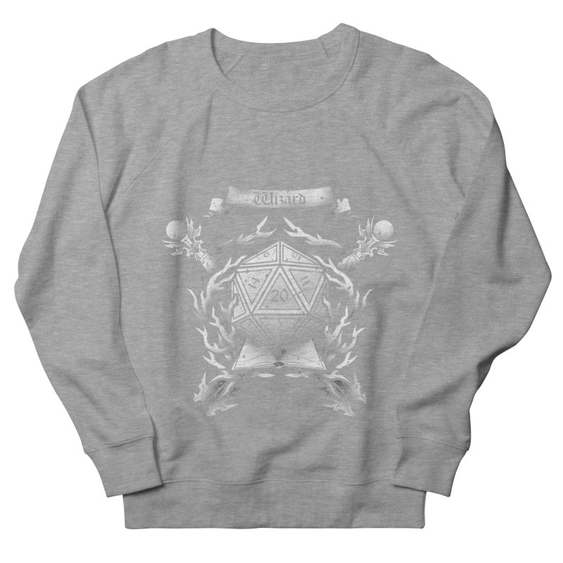 Wizard Crest Men's Sweatshirt by letterq's Artist Shop