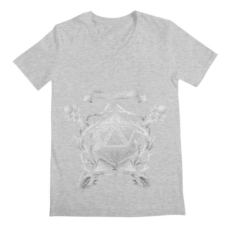 Wizard Crest Men's V-Neck by letterq's Artist Shop